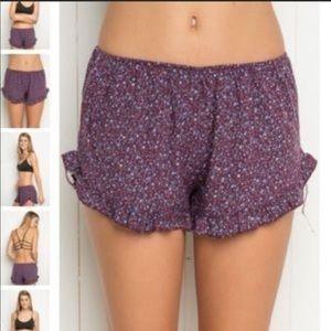 Brandy Melville Floral Vodi Shorts